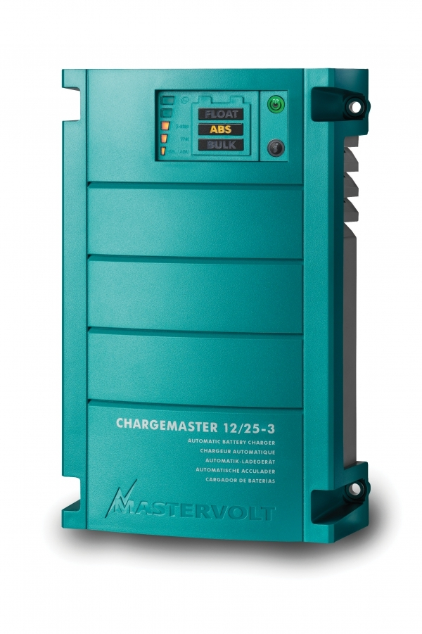 Caricabatterie ChargeMaster 12/25 - 3 uscite